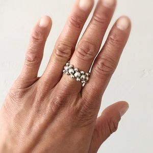 Jewelry - 🆕 Listing!  Vintage | Sterling Bubbles Ring